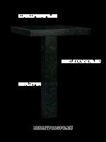 Столик на могилу 11-03