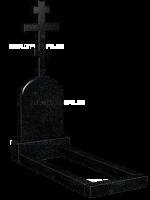 Крест на могилу 07-02